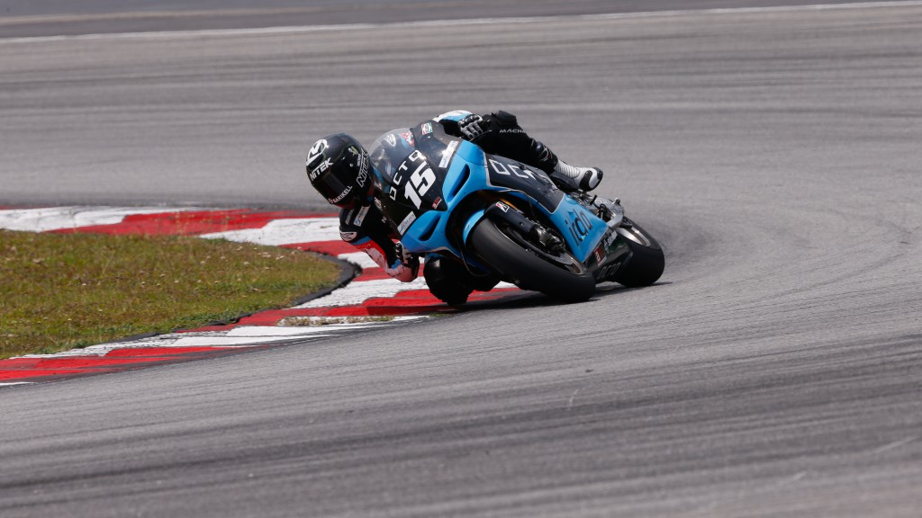 Alex De Angelis, Octo IodaRacing Team, MotoGP Sepang Test II