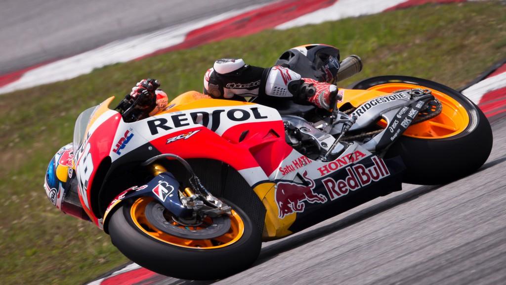 Dani Pedrosa, Repsol Honda Team, MotoGP Sepang Test II