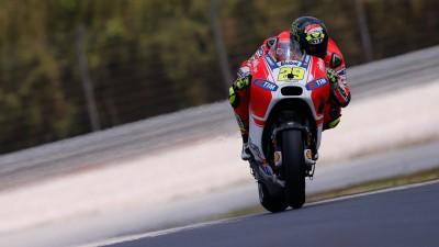 Soddisfazione in Ducati per i primi test della GP15