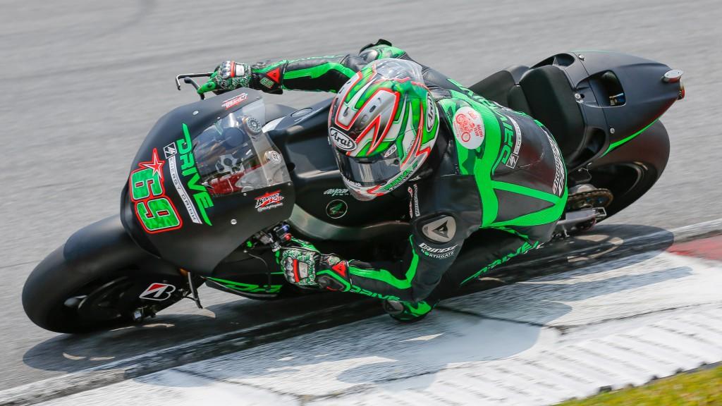 Nicky Hayden, Drive M7 Aspar, MotoGP Sepang Test II
