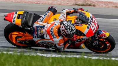 Marquez dominates the morning on day 3 at Sepang