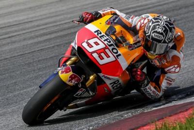 Honda termina el test con Márquez primero y Pedrosa séptimo