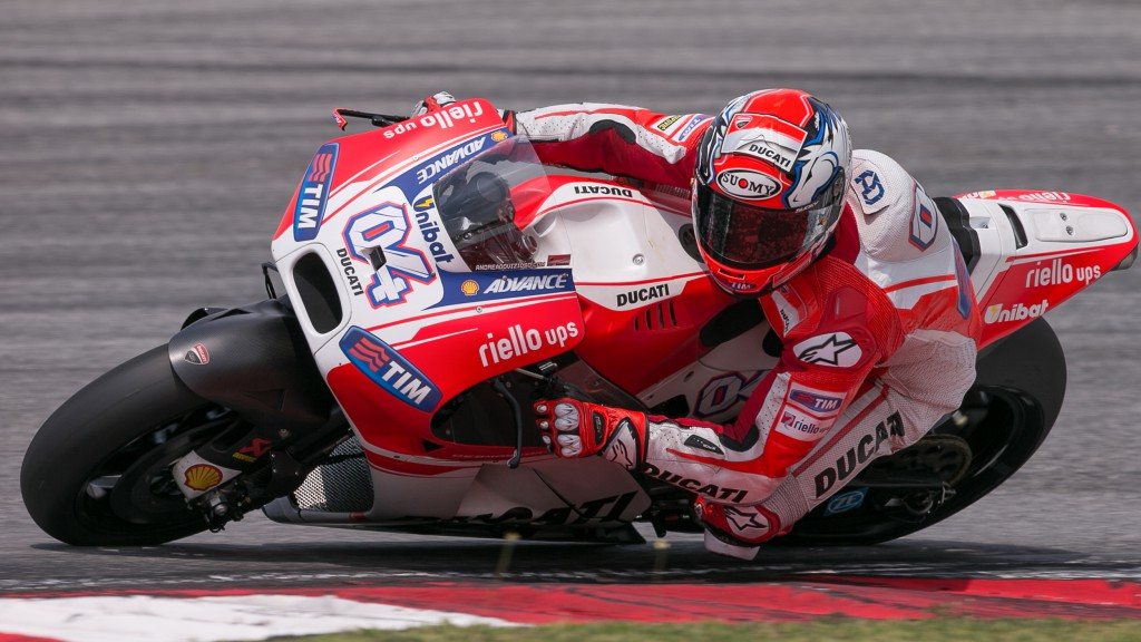 Andrea Dovizioso, Ducati Team, MotoGP Sepang Test II