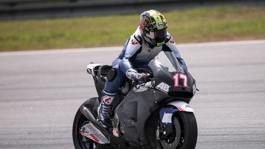 Karel Abraham, AB Motoracing, MotoGP Sepang Test II