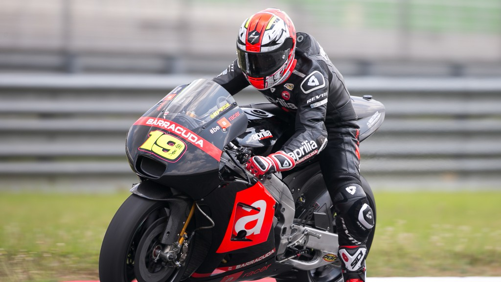 Alvaro Bautista, Aprilia Racing Team Gresini, MotoGP Sepang Test II
