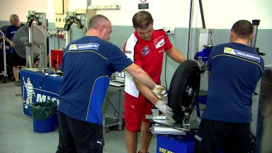 MotoGP™ riders test Michelin tyres in Sepang