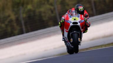 Ducati, satisfecha con el debut de la GP15