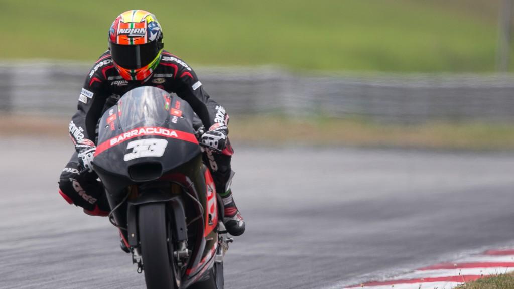 Marco Melandri, Aprilia Racing Team Gresini, MotoGP Sepang Test II