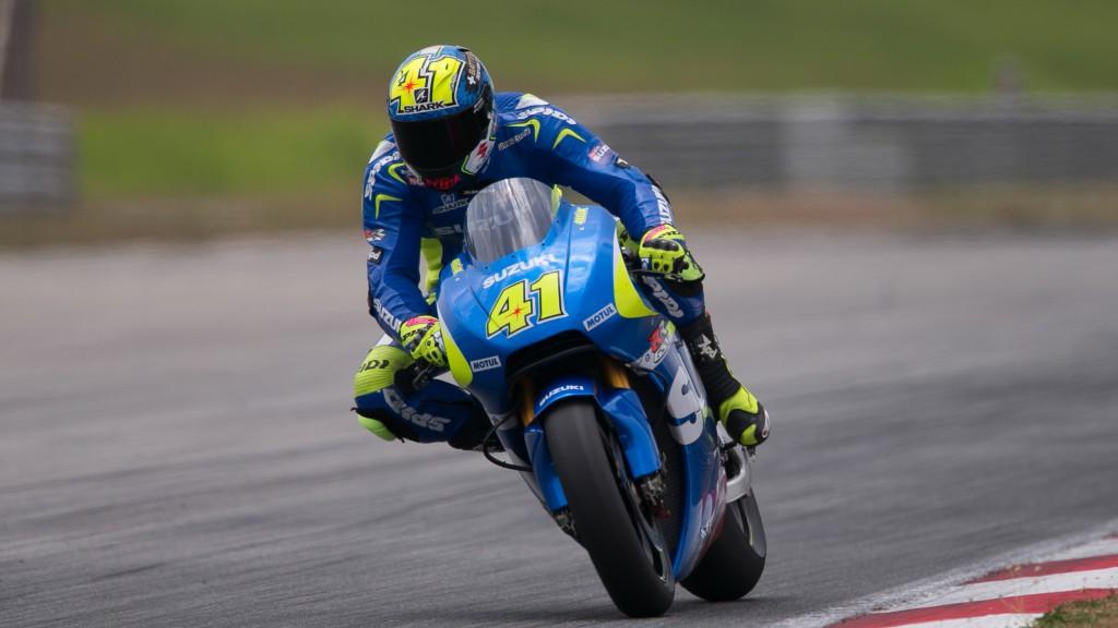 Aleix Espargaro, Team Suzuki MotoGP, MotoGP Sepang Test II