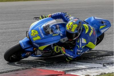 Suzuki deja Sepang tras mejorar sensiblemente