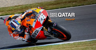 Just 26 days until the first Grand Prix at Qatar!
