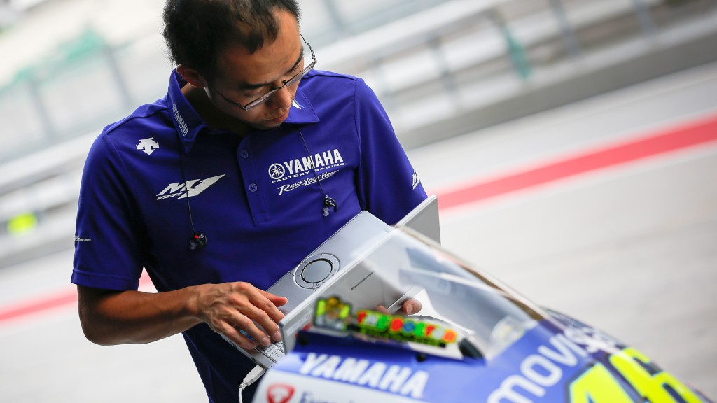 Movistar Yamaha MotoGP Technician