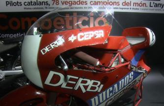 Sights & sounds of the Catalunya Moto exhibition