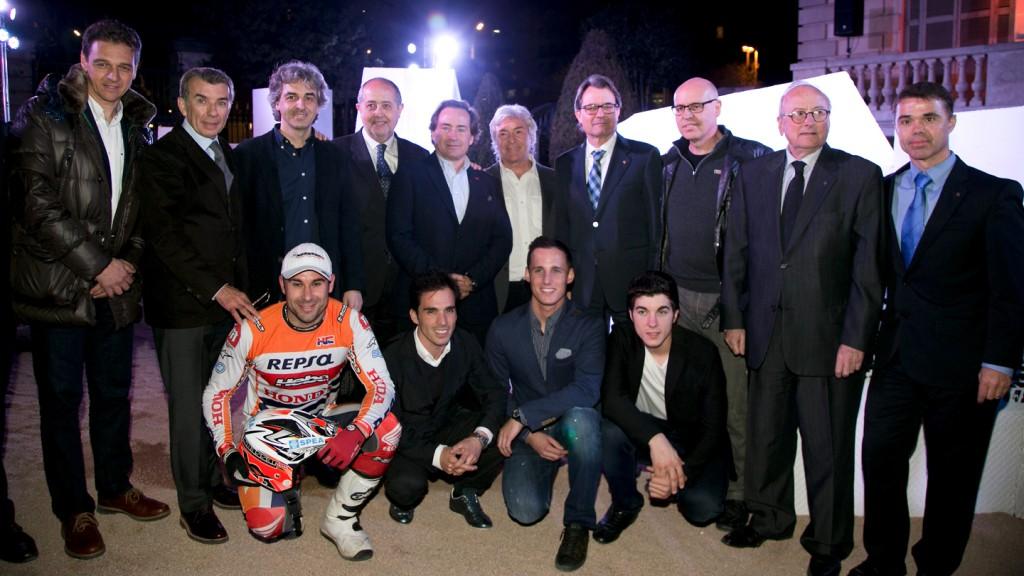 Opening exhibition Catalunya Moto