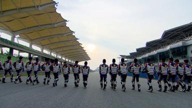 Trois jours de test pour la Shell Advance Asia Talent Cup