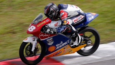 Shell Advance Asia Talent Cup absolviert Sepang-Test