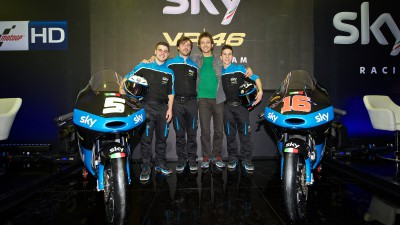 Lancement du Sky Racing Team VR46 2015