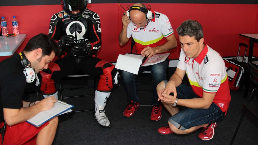 Pramac Racing's Team Manager Francesco Guidotti