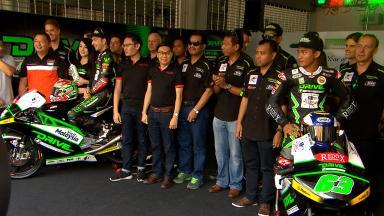 Presentato il DRIVE SIC M7 Racing Team Moto3™