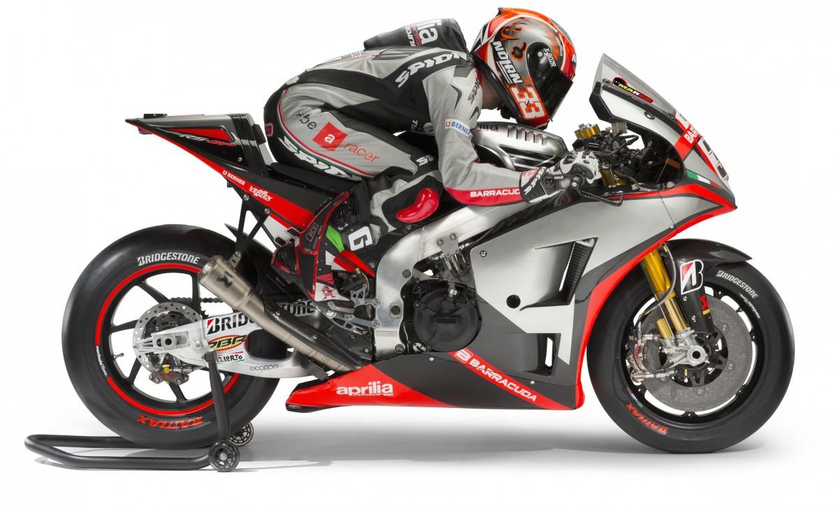Aprilia présente officiellement son team MotoGP™ pour 2015 ...