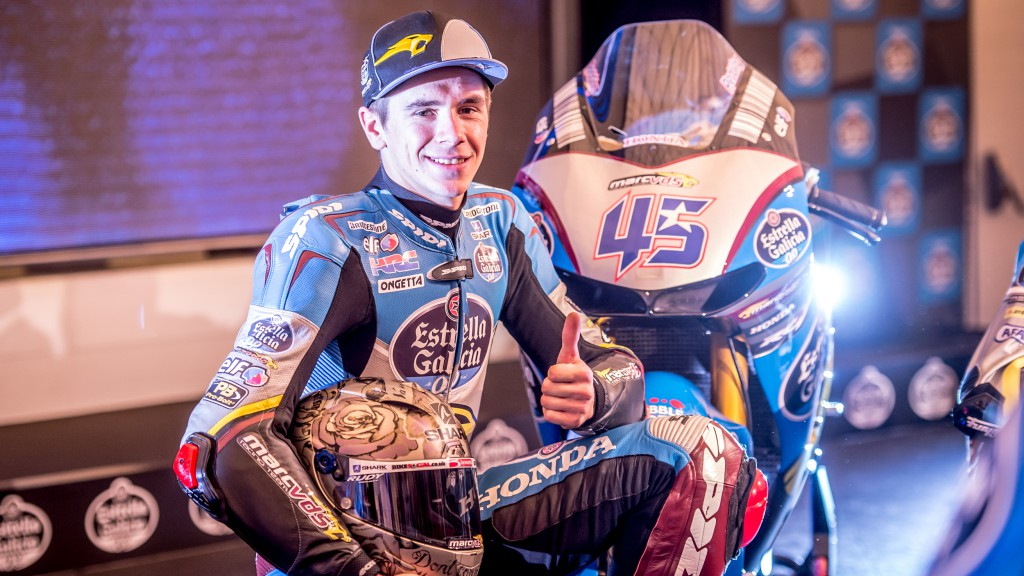 Scott Redding, Estrella Galicia 0,0 Marc VDS Presentation
