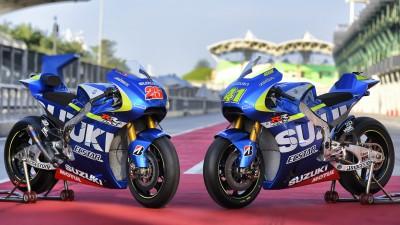 Suzuki MotoGP™ Team heißt 2015 offiziell Suzuki Ecstar