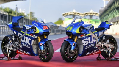 Le team MotoGP™ de Suzuki s'appellera Suzuki Ecstar