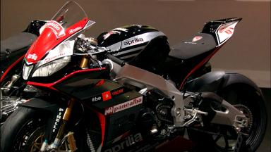 Aprilia unveils 2015 RS-GP in Milan