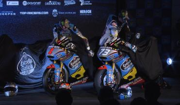 Estrella Galicia 0,0 Marc VDS launch team of Champions
