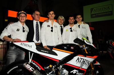 Presentación del equipo Forward Racing Athinà