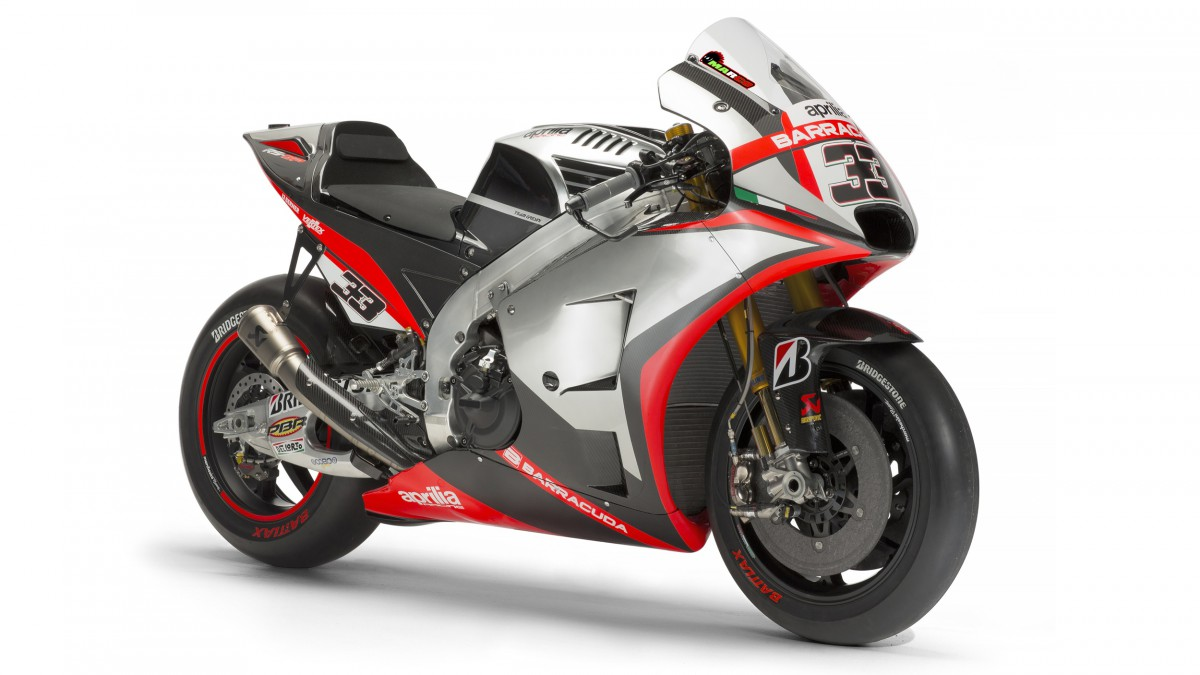 Aprilia choose the bike they will use for 2015
