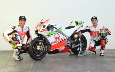 Pramac Racing Team präsentiert neue Farben