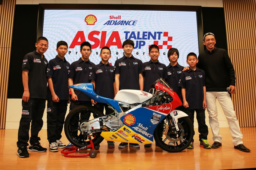 Shell Advance Asian Talent Cup Presentation