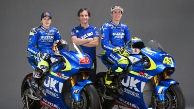 """Team Suzuki Ecstar testet in Losail """"Renn-Paket"""""""