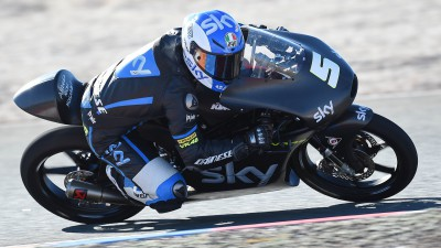Fenati affina il set-up ad Almeria