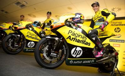 Páginas Amarillas HP 40 Team präsentiert