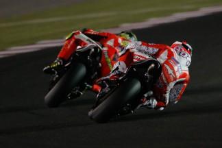 Comienza el test oficial de MotoGP™ en Qatar