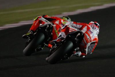 La MotoGP™ inizia a girare nel deserto del Qatar
