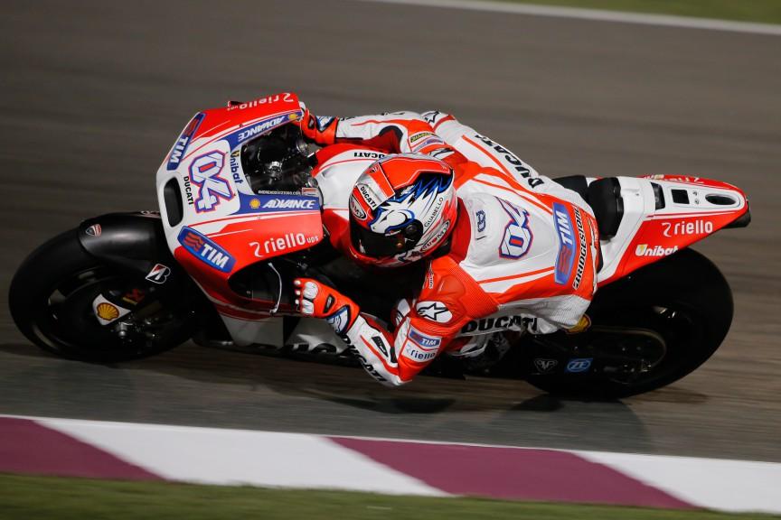 Andrea Dovizioso, Ducati Team, MotoGP Qatar Test