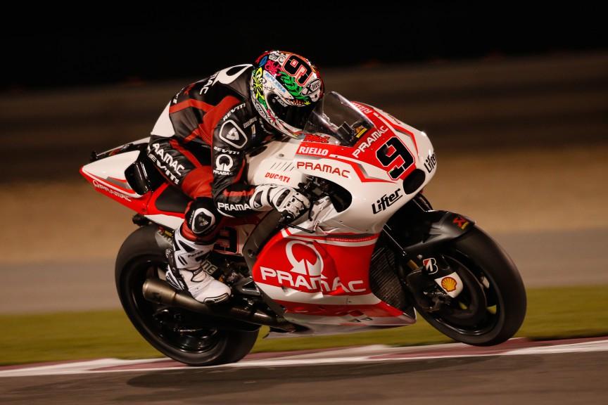 Danilo Petrucci, Pramac Racing, MotoGP Qatar Test