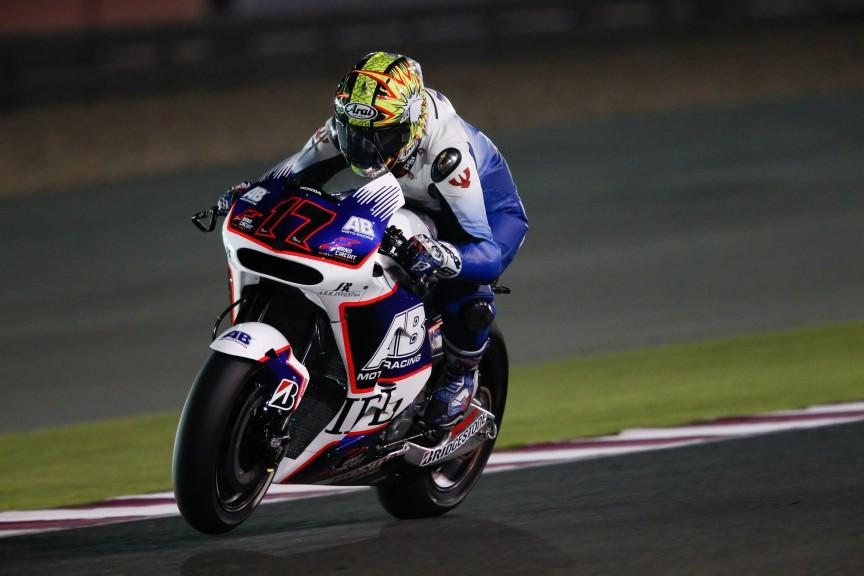 Karel Abraham, AB Motoracing, MotoGP Qatar Test