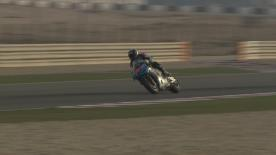 Some of the early track action from day 1 of the final preseason test at the Losail International Circuit