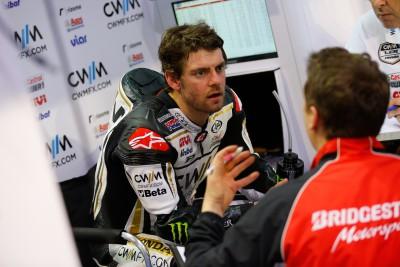 Crutchlow : « Je me sens confiant sur ma moto »