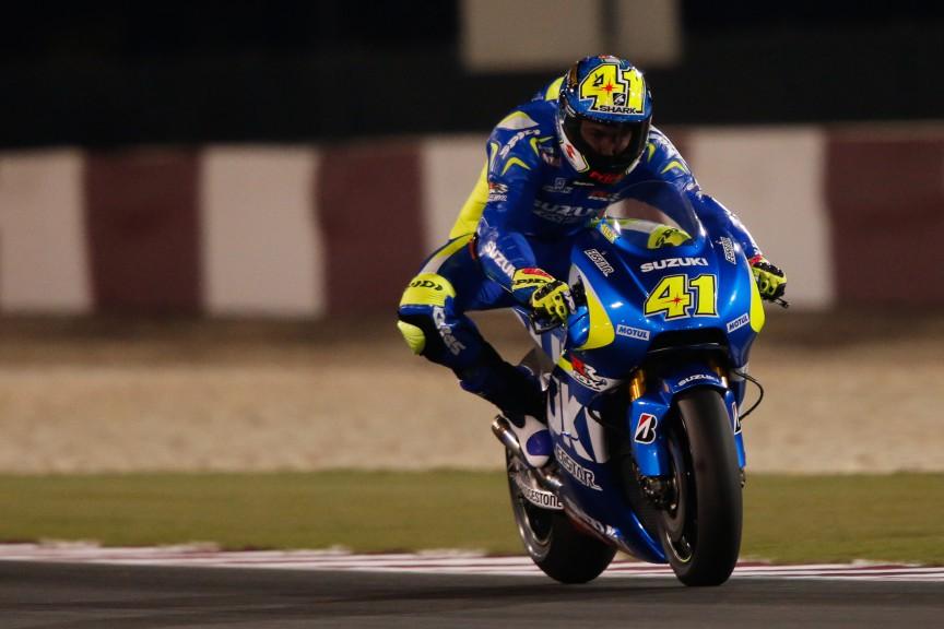 Aleix Espargaro, Team Suzuki MotoGP, MotoGP Qatar Test