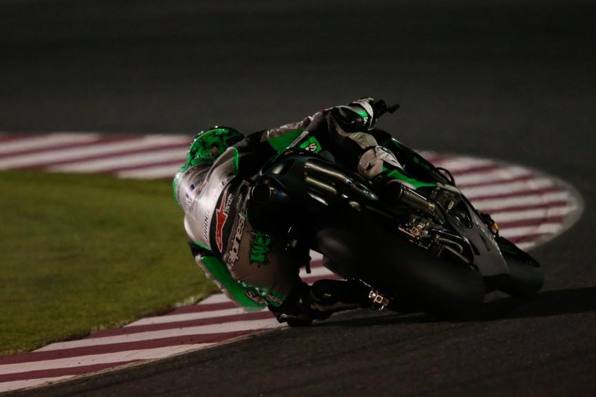 Eugene Laverty, Drive M7 Aspar, MotoGP Qatar Test
