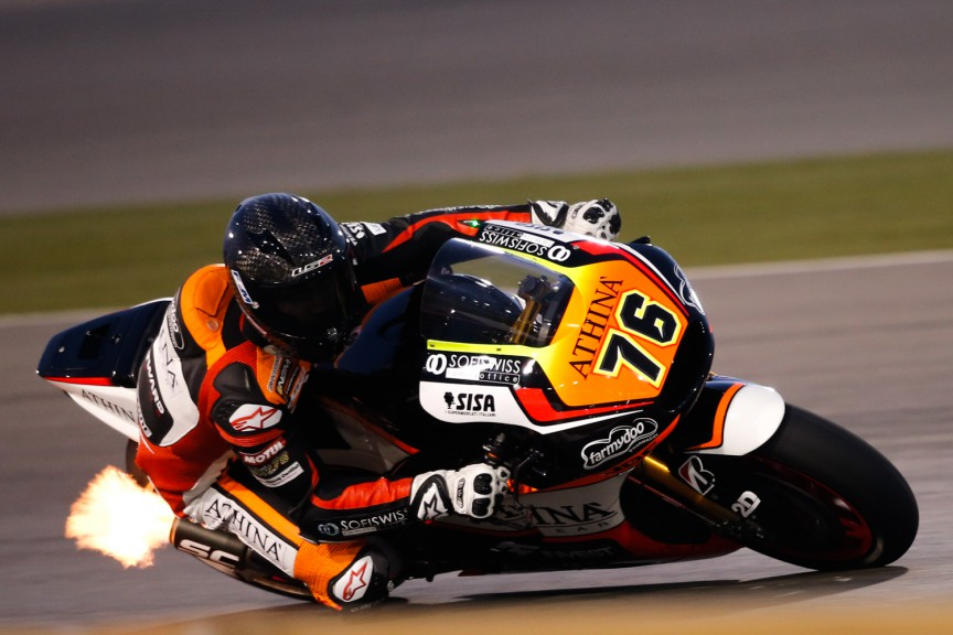 Loris Baz, Forward Racing, MotoGP Qatar Test