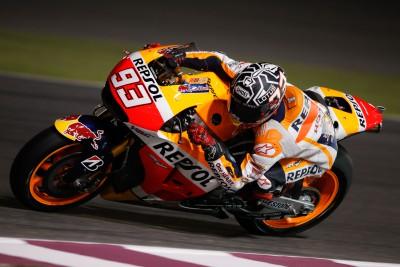 Repsol Honda Team beginnt letzten Test in Katar