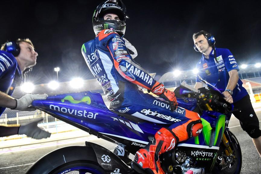 Jorge Lorenzo, Movistar Yamaha MotoGP; Qatar Test MotoGP