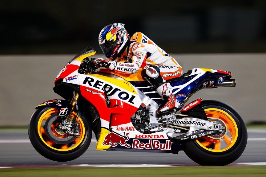 Dani Pedrosa, Repsol Honda Team, MotoGP Qatar Test