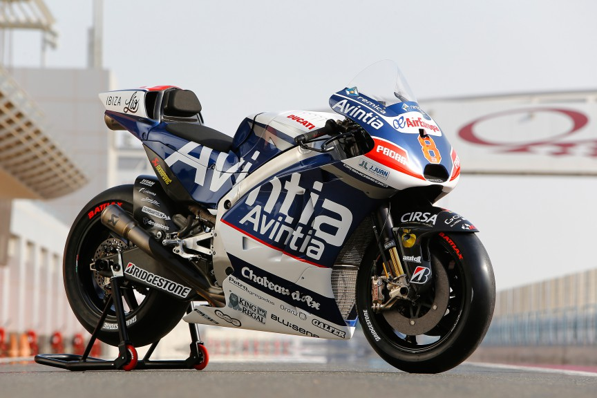 Avintia Racing, MotoGP Qatar Test